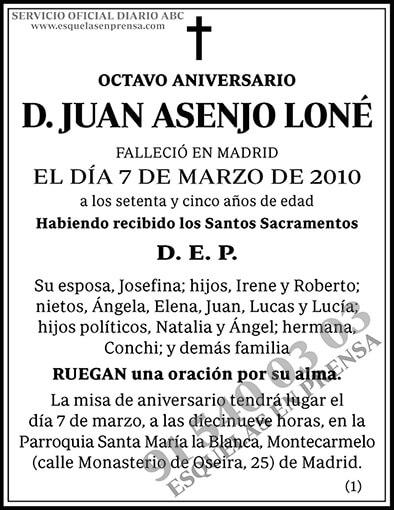 Juan Asensio Loné